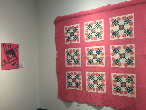Elliott Museum Quilt Exhibit. Ellen Lindner, AdventureQuilter.com/blog