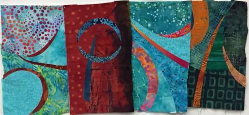 Translating Sketches to Color. Ellen Lindner, AdventureQuilter.com/blog