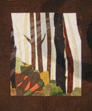 """Student results from Ellen Lindner's """"Design Your Own Nature Quilt"""" class. AdventureQuilter.com"""