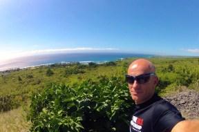 Blick über die Kona Coast