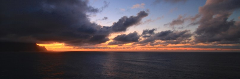 Sonnenuntergang in Hanalei