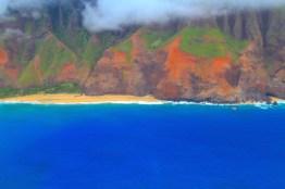 Kalalau Beach von oben