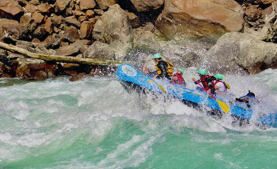 World's Best Adventure Sports in Rishikesh, Uttarakhand, India