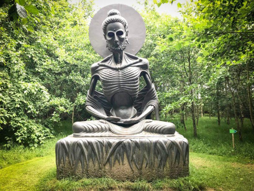 Victor's Way Indian Sculpture Park - Ireland Road Trip
