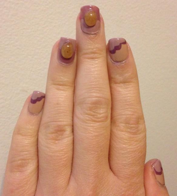 Earthy Nail Art