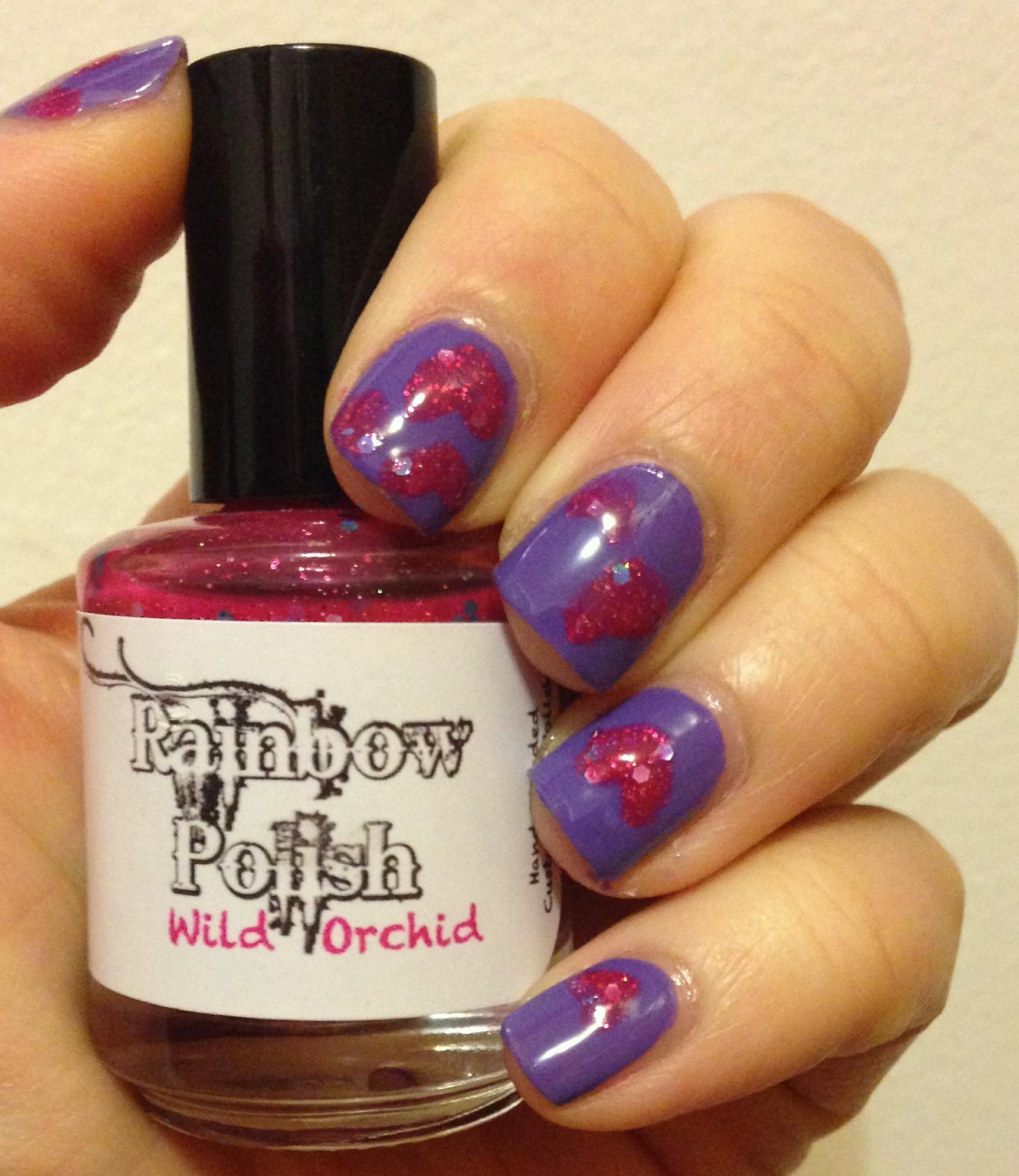 valentine nail art – Adventures in Polishland