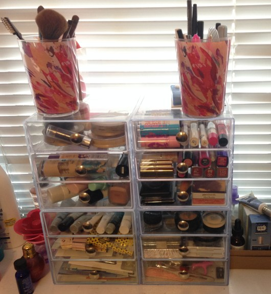 Makeup Collection Organization | Adventures in Polishland