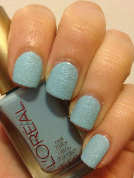 L'Oreal – Distressed Turquoise