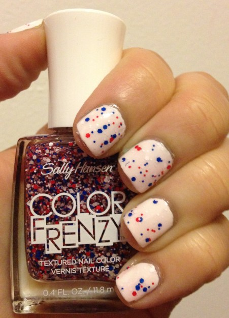 Sally Hansen Color Frenzy – Red, White & Hue!