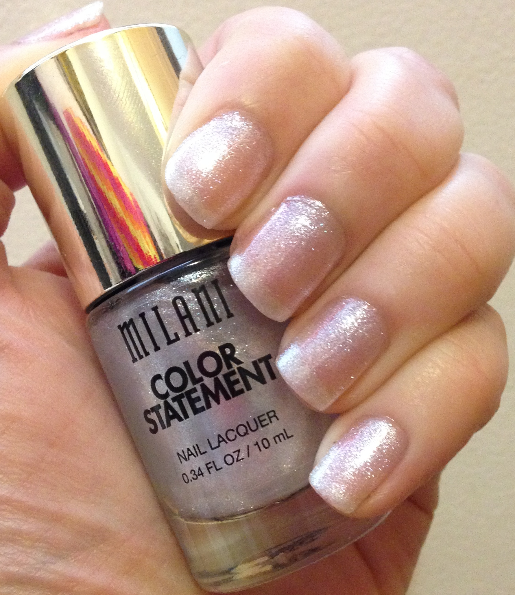 Milani Color Statement Nail Lacquer | The Sheers | Adventures in ...