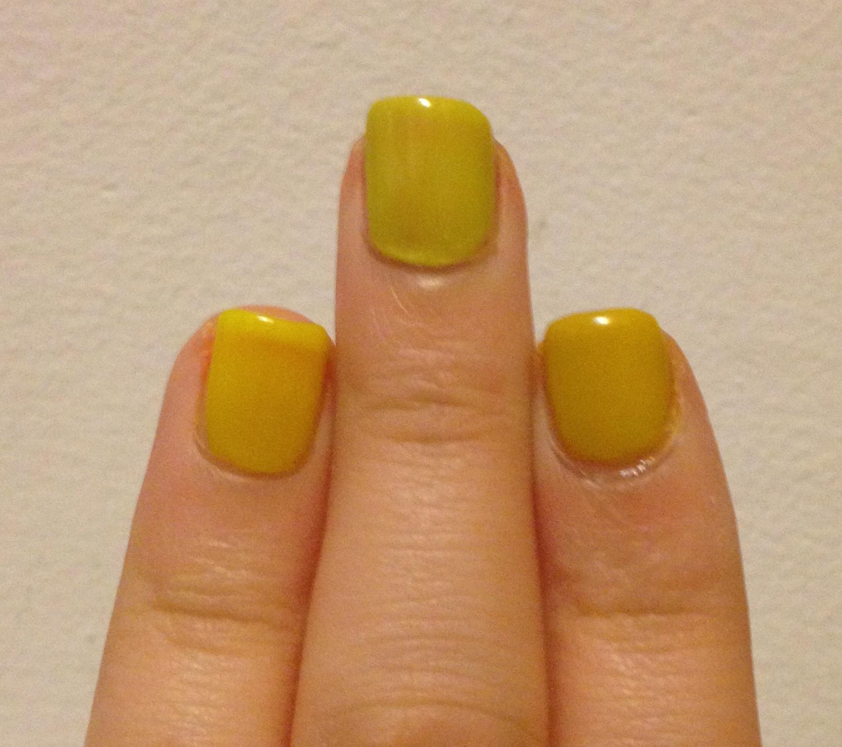 Dare to Compare | Neon Yellow Nail Polish | Adventures in Polishland
