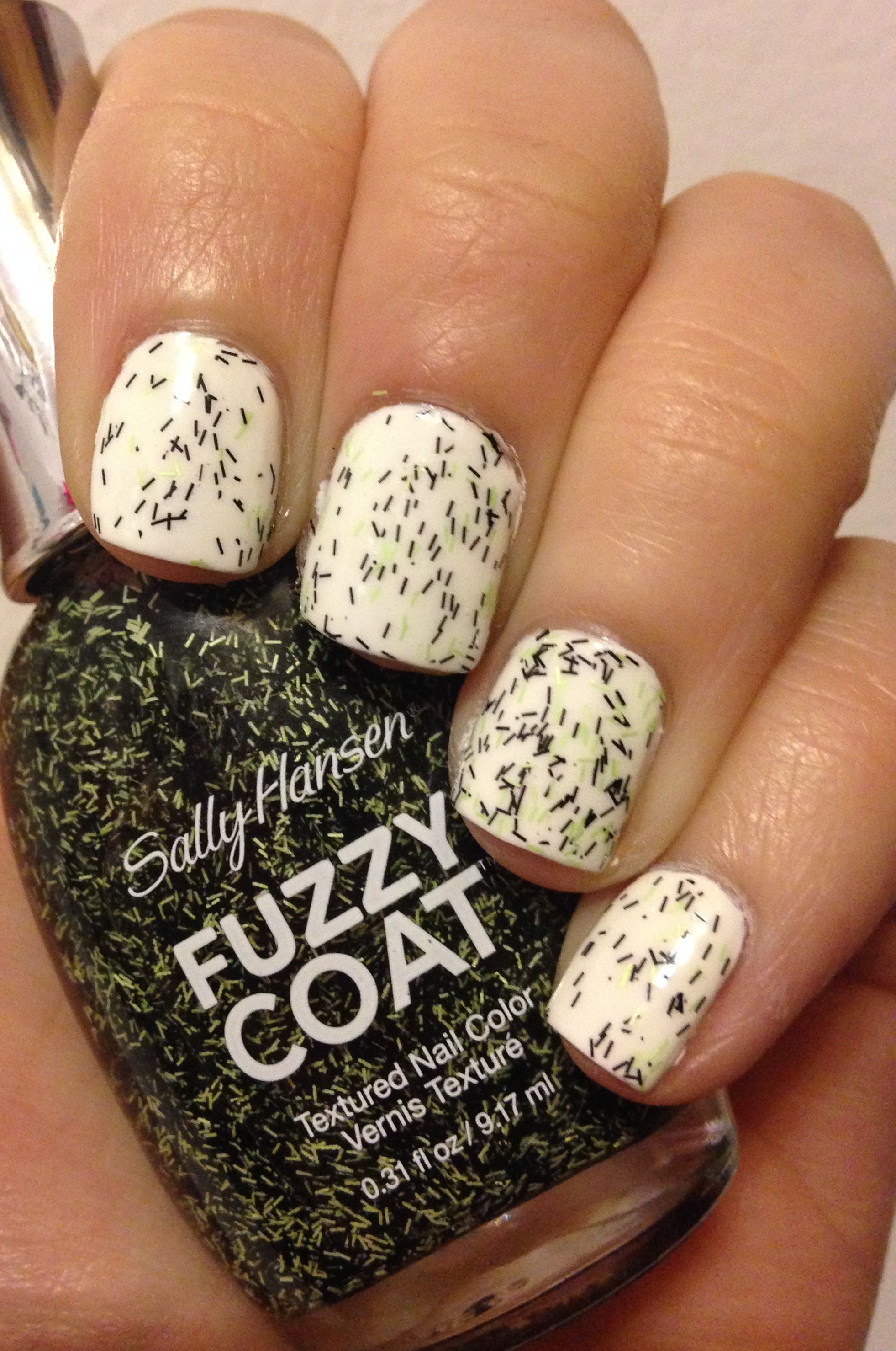 Sally Hansen Fuzzy Coat | Halloween 2014 Collection – Adventures in ...