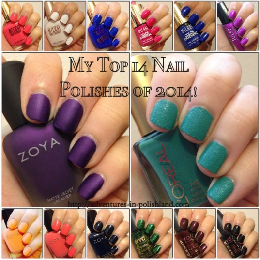 My Top 14 Nail Polishes of 2014! | Adventures in Polishland
