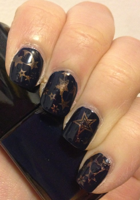 Starry Stamping | Adventures in Polishland