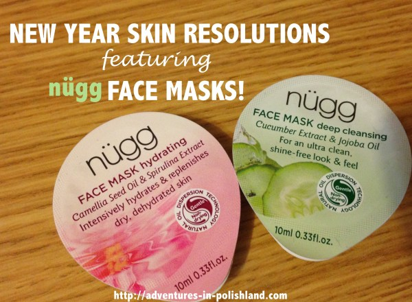 New Year Skin Resolutions featuring nügg Face Masks!