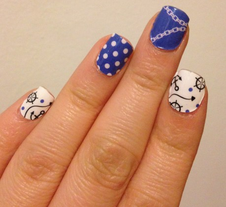 OMGNailStrips – In the Navy