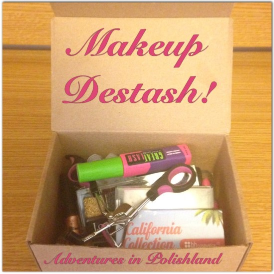 Huge Makeup Destash! | Adventures in Polishland