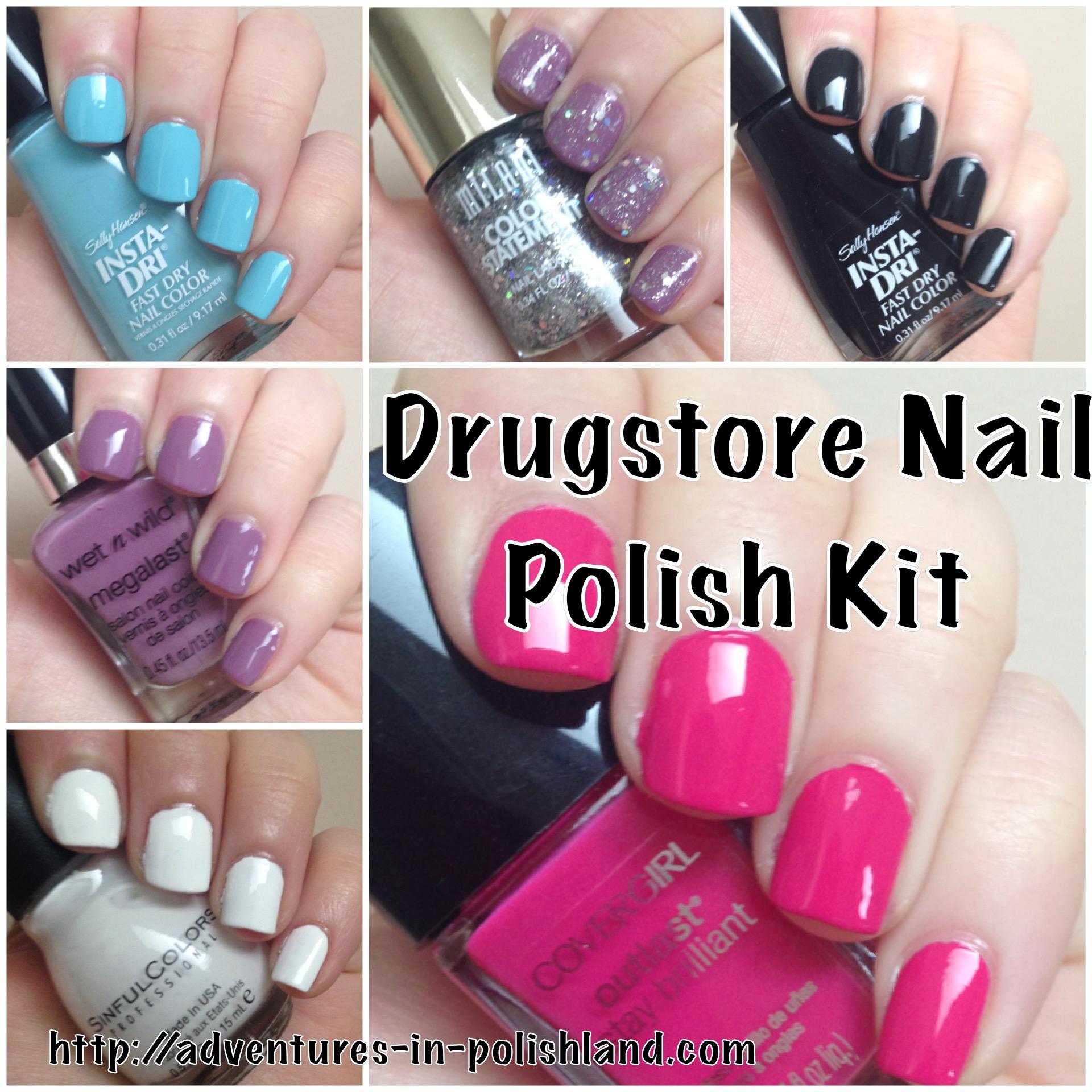 Back to School Week | Drugstore Nail Polish Kit – Adventures in ...