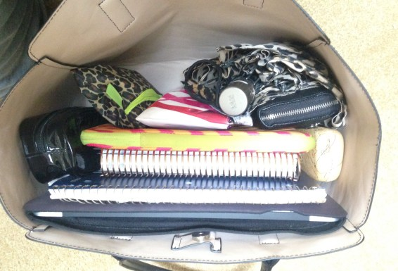 What's in My School Bag? | Vertical Organization