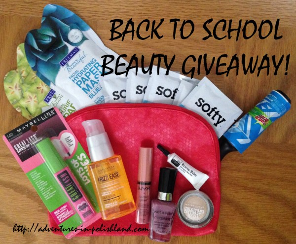 Back to School Week | Drugstore Beauty Giveaway!