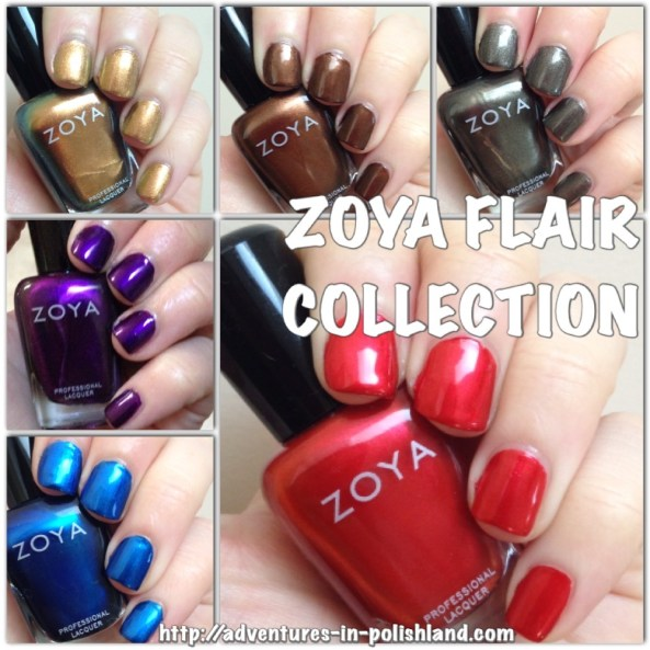 Zoya Flair Collection for Fall 2015