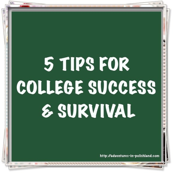 5 Tips for College Success & Survival | Adventures in Polishland