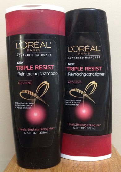 My Current Hair Care Favorites | L'Oreal Advanced Haircare Triple Resist
