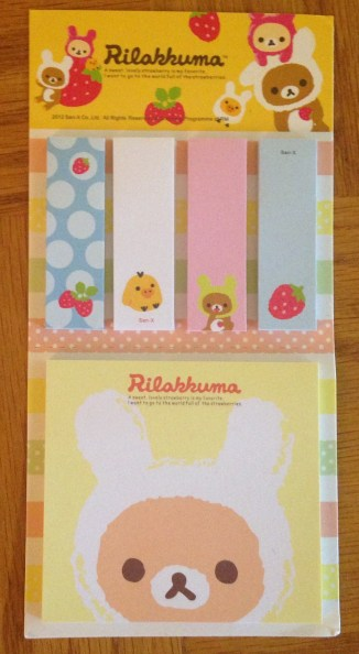 Born Pretty Store Haul | Rilakkuma Sticky Notes