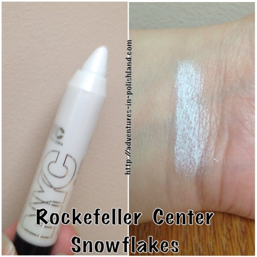 NYC New York Color City Proof 24Hr Waterproof Eyeshadow – Rockefeller Center Snowflakes