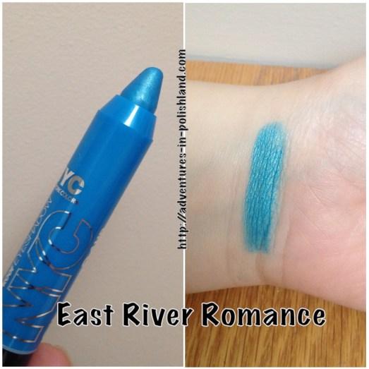 NYC New York Color City Proof 24Hr Waterproof Eyeshadow –  East River Romance