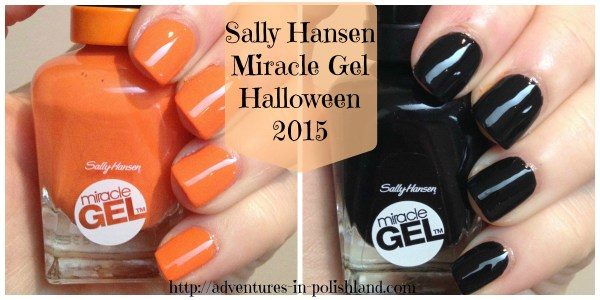 Halloween Week  Sally Hansen Electra-Cute and Blacky O