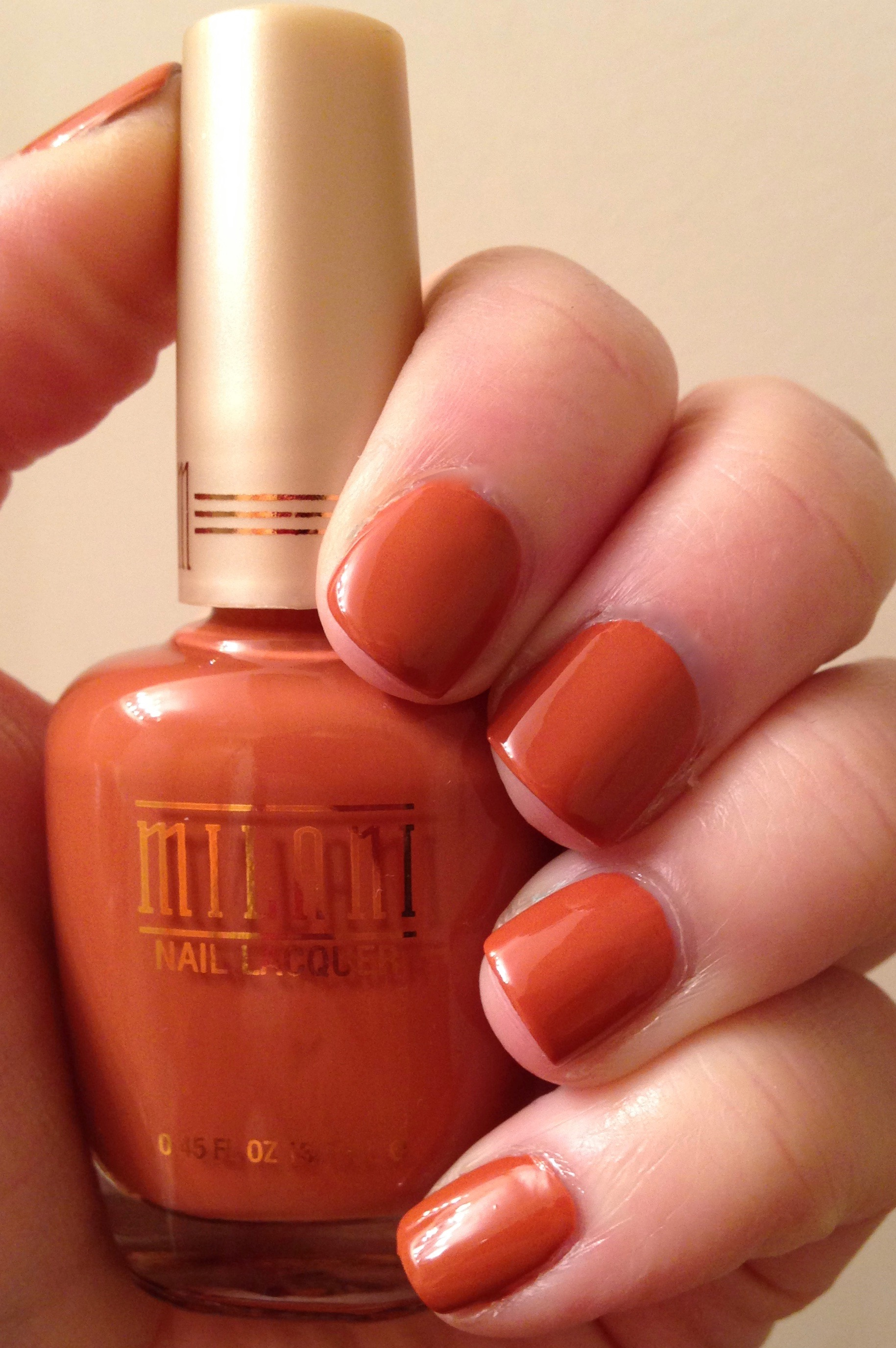 The Perfect Fall Nail Color | Milani Cosmetics in Canyon Country ...