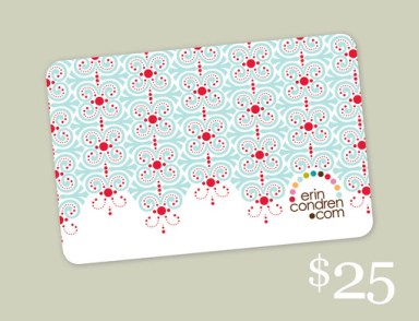 Erin Condren Gift Card