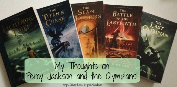 My Thoughts on Percy Jackson and the Olympians