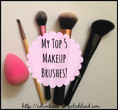 My Top 5 Makeup Brushes | What I Use Daily
