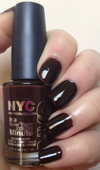 NYC New York Color In a New York Minute Quick Dry in Royal Chic