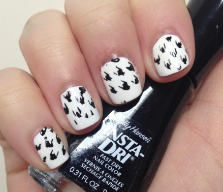 Adventures in Nail Vinyls Part 2 | Houndstooth Nail Art Fail