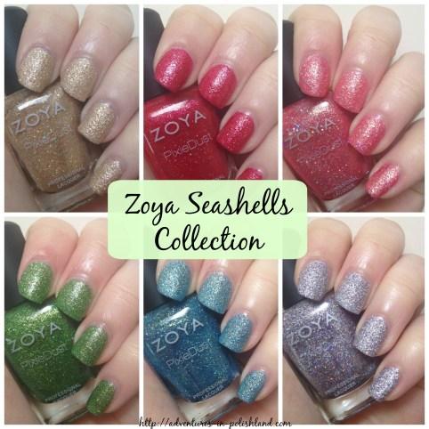 Zoya Seashells Collection for Summer 2016
