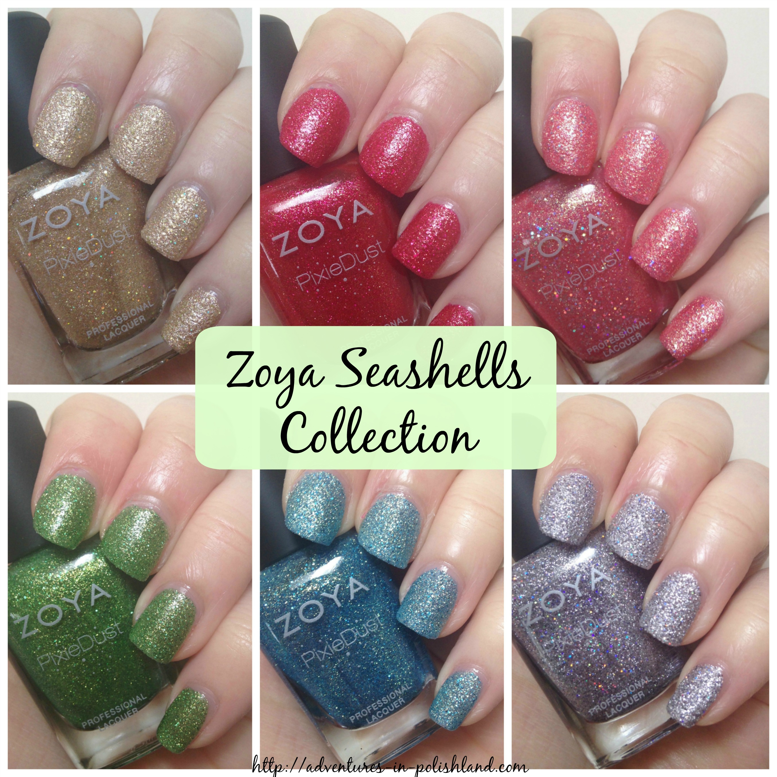 Zoya Seashells Collection For Summer 2016