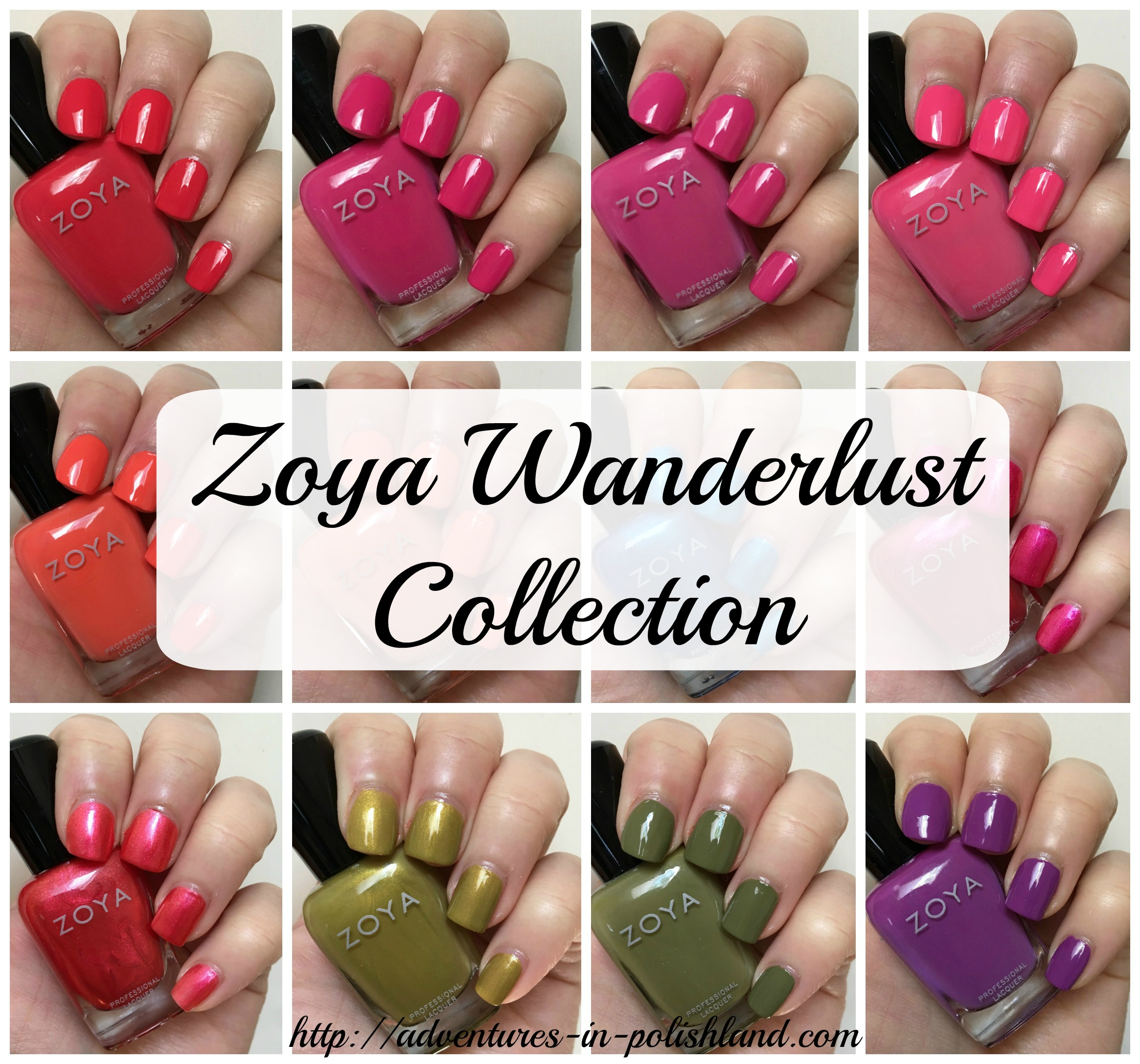Zoya Nail Polish Wanderlust Collection for Summer 2017 – Adventures ...
