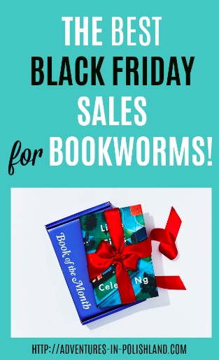 Books adventures in polishland i scoured the web for the best black friday deals on books to make your shopping easier fandeluxe Gallery