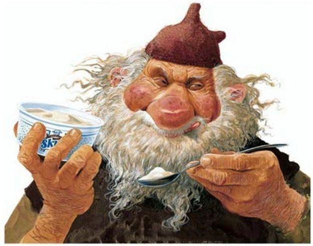 Trzynastu islandzkich Mikołajów Skyrgámura