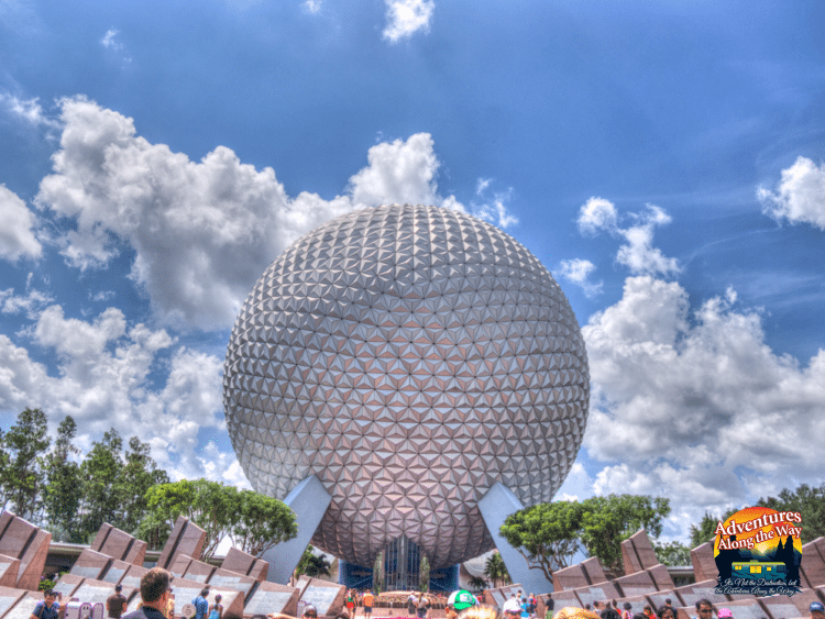Globe at Epcot Center