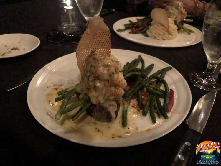 Vernon's Speakeasy - Filet Mignon and Lobster Tail