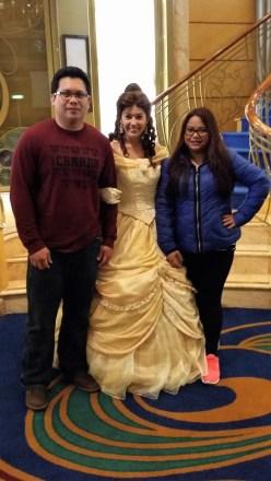 Disney Wonder Alaska Princess Belle