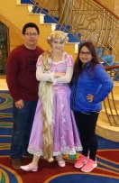 Disney Wonder Alaska Princess Rapunzel
