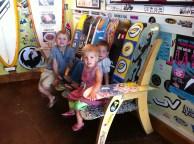 Kids at Wahoos