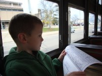 The pricey children's theater ended up being free children's literature on a free trolley ride.