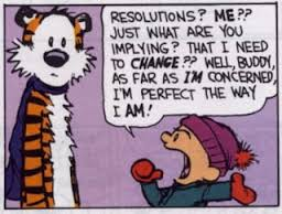 Calvin and Hobbes Resolutions