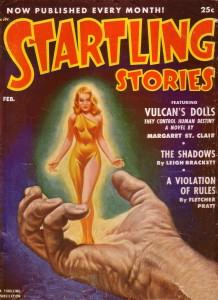 Startling Stories Vulcan's Dolls